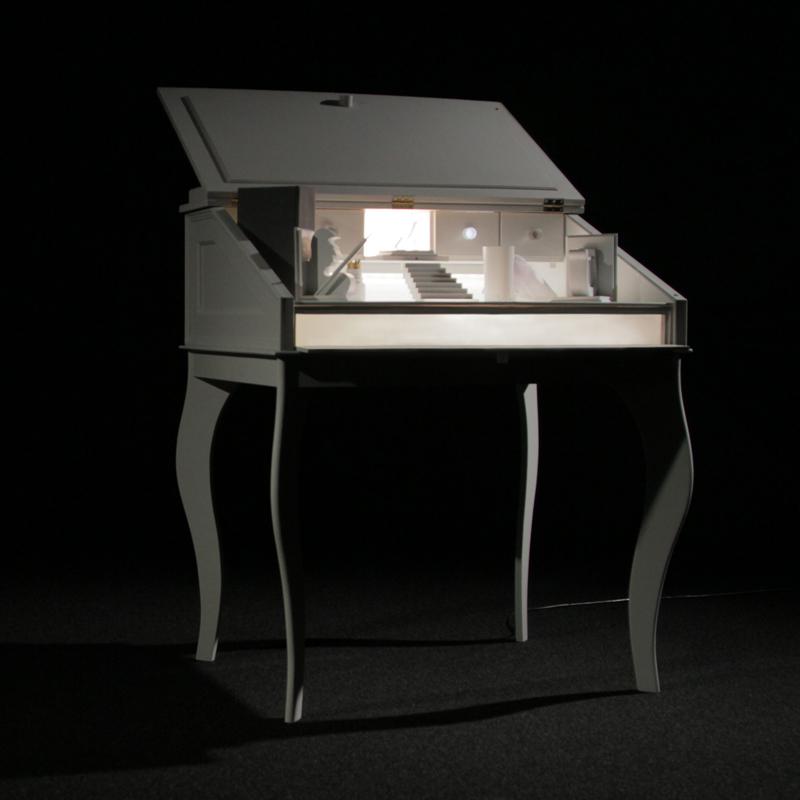 U0027Remember Meu0027, A Miniature Multi Media Opera In A Desk By Claudia