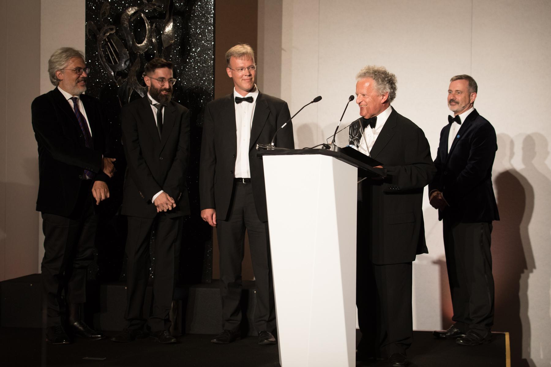 The Arditti Quartet win the Contemporary Award