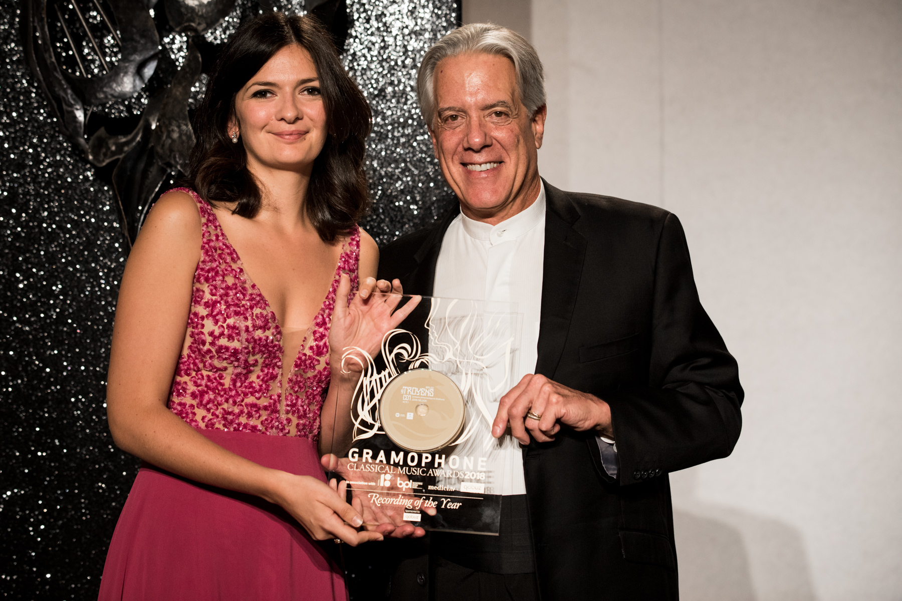 The Recording of the Year Award was won by Berlioz's Les Troyens, featuring Marianne Crebassa