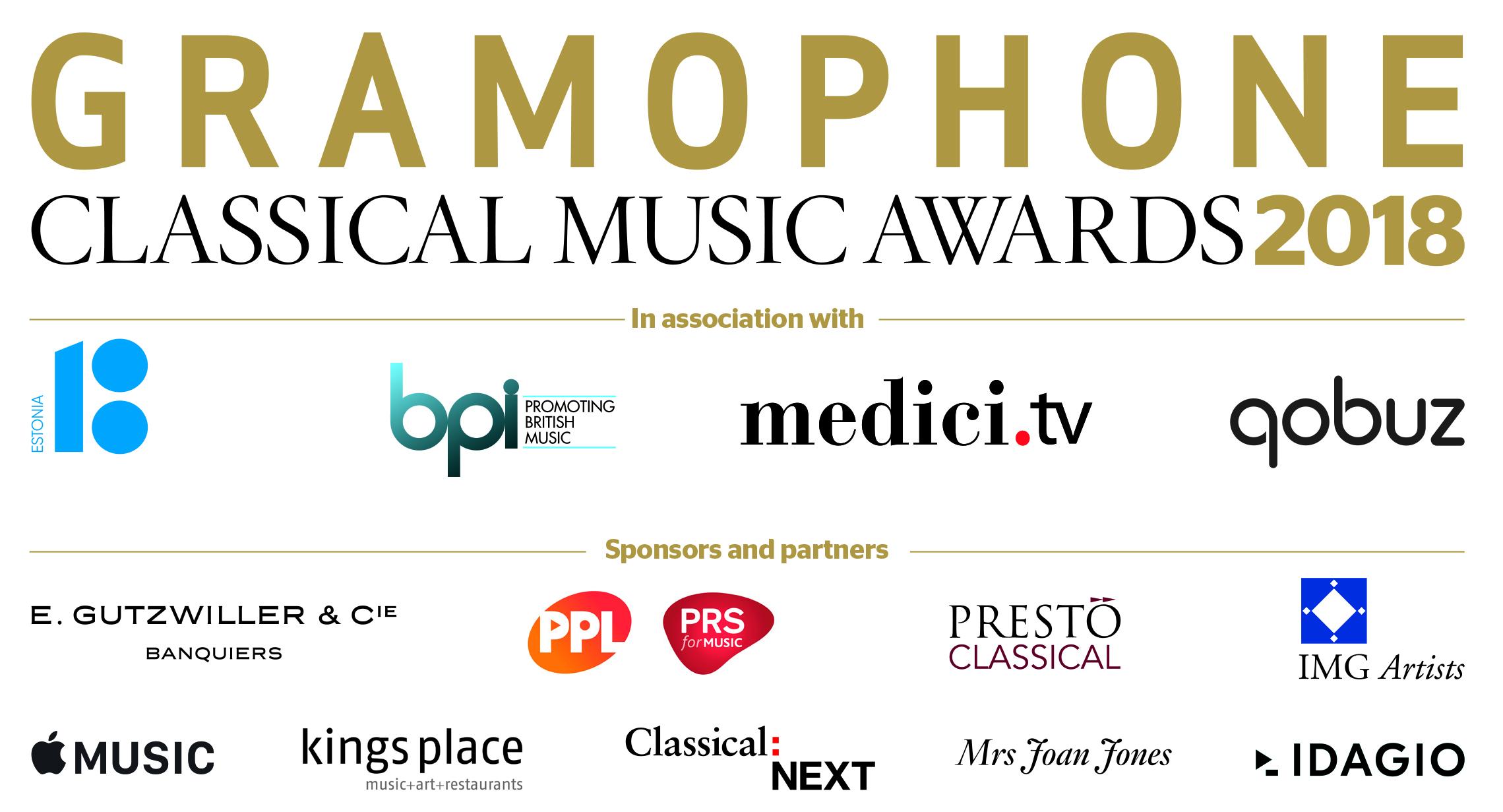Gramophone Sponsors