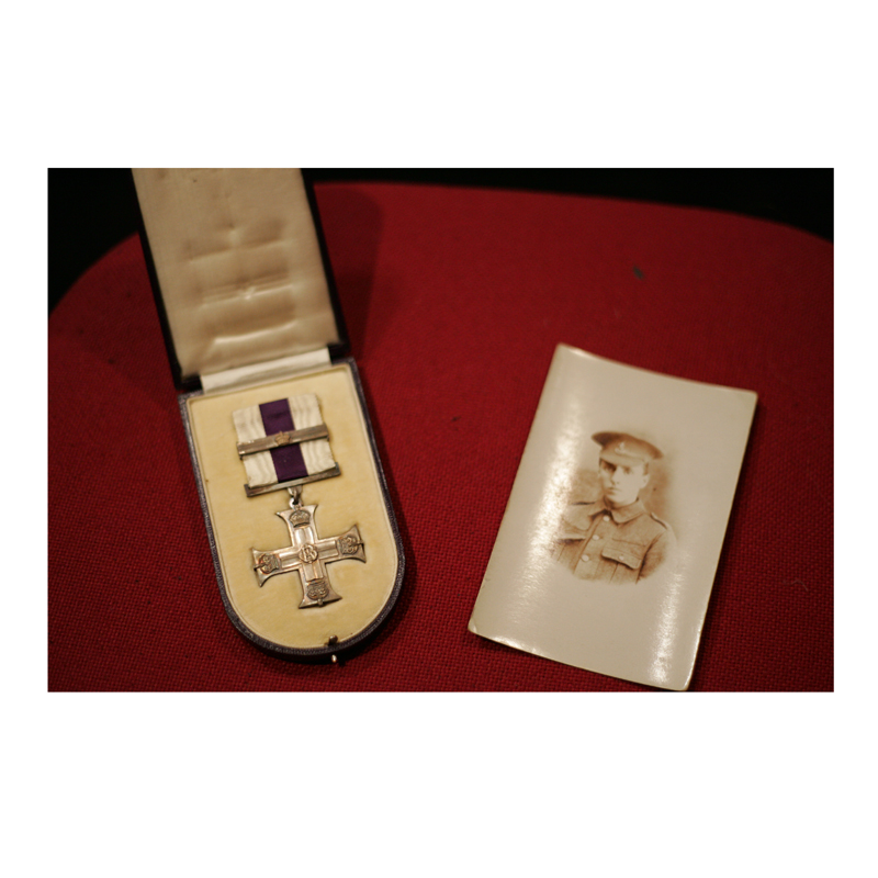 Clare Sutherland (Alto, NYCGB) brought her Great Great Uncle Leslie Carr's Military Bar medal with her to the Abbey Road recording. The Bar shows Leslie won the Military Cross for bravery not once, but twice.