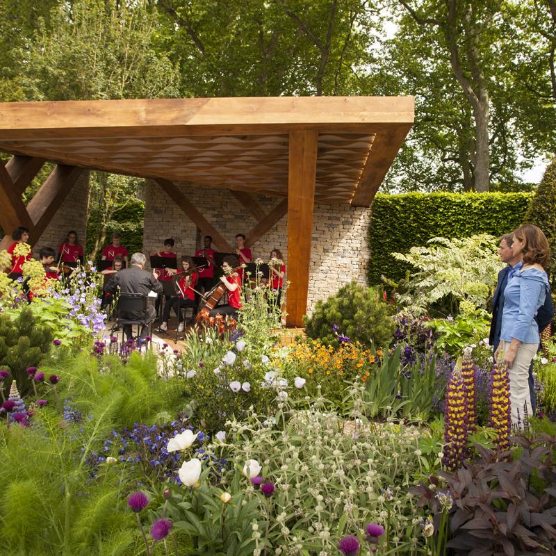 Chelsea flower show garden celebrates music and education - Chelsea garden show ...