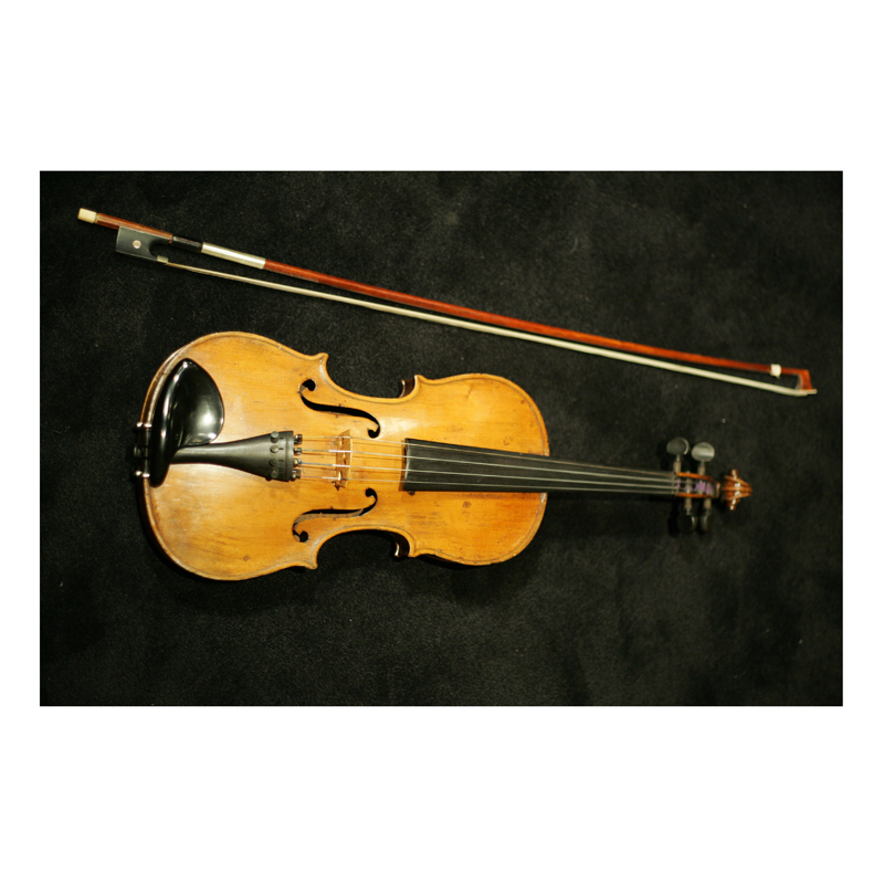 Ruth Hoare's (Soprano, NYCGB) Great Great Uncle Bertie's was a budding violinist when he was called up to fight in the war. He died at the Somme but his violin is still in the family and each generation has learnt to play the violin using it. Ruth's aunt still regularly uses the bow of Uncle Bertie's violin in the Farnborough Symphony Orchestra.
