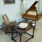 A harpsichord from 1720, thought to have been owned by Handel, by Gulielmus Smith