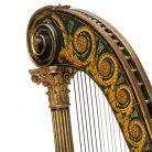 Pedal harp, Dizi,London, 1813-1831
