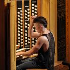 Organist Cameron Carpenter appeared at the Proms on September 1 and 2