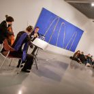 Chamber music in the Museum of Modern Art, Łódź, Poland, spring 2011 (Tomasz)
