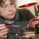 Science Museum sound-artist-in-residence Aleks Kolkowski recreated the wax cylin