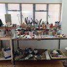 Christopher Le Brun's studio