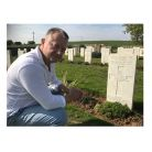 Patrick Hawes found his Great Uncle Harry's grave in the tiny Berles Military Cemetery in France and even incorporated his epitaph into the 3rd Movement of the Symphony 'He Lies With England's Heroes in the Watchful Care of God'.