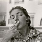 Maria Callas on holiday in Ischia, 1956