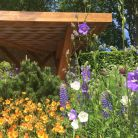 'I've often thought that designing and orchestrating a garden shares similarities with composing a piece of music, so when thinking about this garden, I was inspired by pieces from Mozart and Bach,' Chris Beardshaw continued (eleventenths).