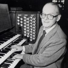 Allan Wicks, Canterbury organist (photo: Kentish Gazette)