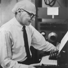 Milton Babbitt: worth caring about (photo: Tully Potter Collection)