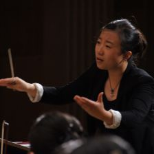 Jing Huan was awarded third prize in China's first Li Delun National Conducting
