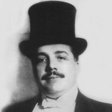 Sergei Diaghilev in 1916 (Photo Tully Potter Collection)