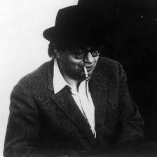 Morton Feldman (photo courtesy of C.F. Peters Corporation)