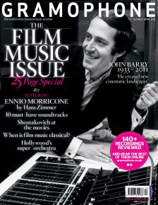 Gramophone April 2011: Film Music Special, on sale now