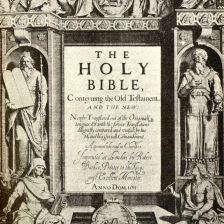 King James Bible of 1611 (Image: Lebrecht Music and Arts Photo Library / Alamy)
