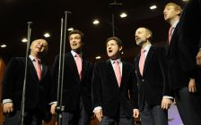 In harmony: The King's Singers, winners of the DVD (Concert) Award (photo: Y-COA
