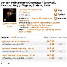 Listen Again to the LPO