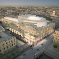 Mariinsky II Opera House opens to the public today