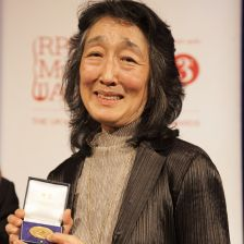 Pianist Mitsuko Uchida was awarded the RPS Gold Medal (photo: Simon Jay Price)