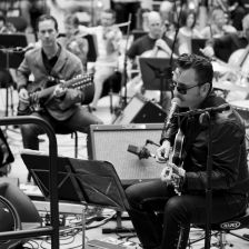 Singer-songwriter Richard Hawley will collaborate with the BBC Philharmonic