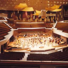 The Philharmonie in Berlin (Photo: Archiv Berliner Philharmoniker)