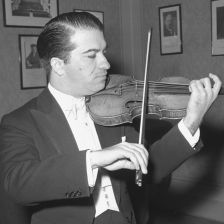 Ruggiero Ricci performing at the House of Artists in Prague in 1958 (photo: CTK