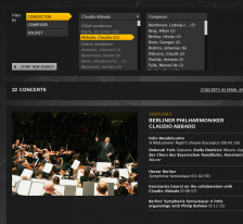 Watch Abbado in the Digital Concert Hall