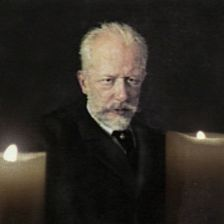 Tchaikovsky, as depicted in a Nupen film (photo: Allegro Films)