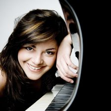 Romanian pianist Mihaela Ursuleasa has died at the age of 33 (photo: Julia Wesel