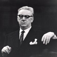 EMI producer Walter Legge, 1906-79 (photo: EMI Archives)