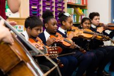 'Classical 100' preview event at St Charles Primary School (photo: Tom Weller)