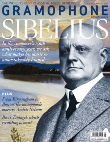 August issue – Sibelius at 150 – out now!