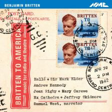 Britten in America (on NMC Recordings) by the Hallé and Sir Mark Elder