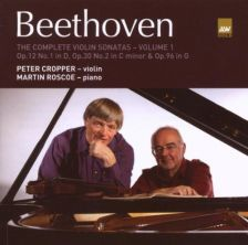 Peter Cropper and Martin Roscoe recorded the Beethoven violin sonatas