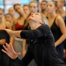 Crystal Pite choreographs Polaris (photo by Chris Randle)
