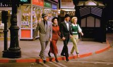 The 1955 film of Guys and Dolls, with (left to right) Marlon Brando, Jean Simmons, Frank Sinatra and Vivian Blaine (photography: Pictorial Press Ltd/Alamy Stock Photo)