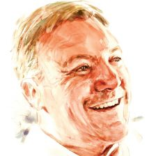 Ed Balls (illustration by Philip Bannister)