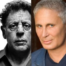Philip Glass (left) and John Corigliano