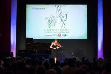 Concerto Award-winner Vilde Frang performs at this year's Gramophone Awards (photo Benjamin Ealovega)