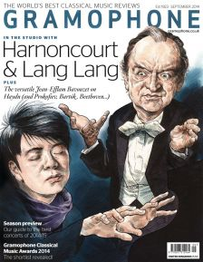 Gramophone, September 2014