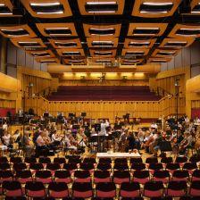 BBC NOW with conductor Martyn Brabbins in Hoddinott Hall