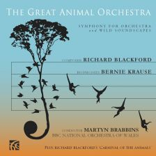 The Great Animal Orchestra Symphony performed by BBC NOW with Martyn Brabbins is released on September 1