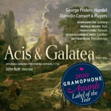 Handel's Acis and Galatea