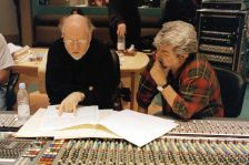 John Williams (left) with George Lucas (Photo: Jonathan Player/Rex Features)