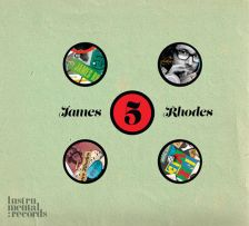 The cover of James Rhodes's new album 'Five'