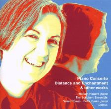 Judith Weir on the cover of NMC's recording of her Piano Concerto